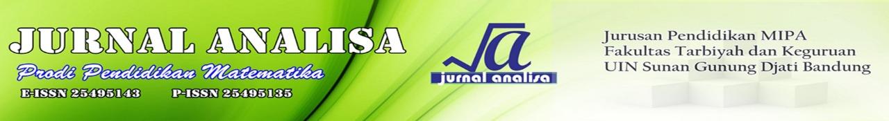 Jurnal Analisa Prodi Pendidikan Matematika
