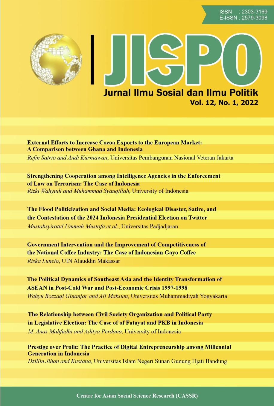 JISPO Jurnal Ilmu Sosial dan Ilmu Politik